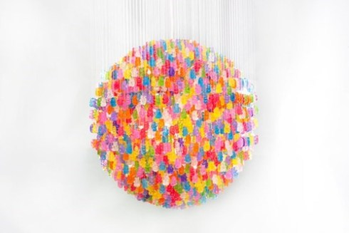 Gummy Candelier
